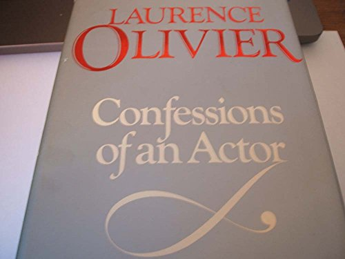 9780297781066: Confessions of an Actor
