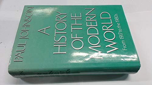 A History of the Modern World 1917-1980s