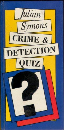 9780297782810: Crime and Detection Quiz