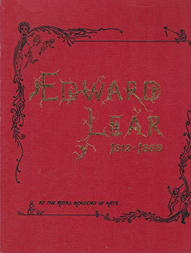 9780297786368: Edward Lear 1812-1888: The Catalogue of a Royal Academy of Arts Exhibition