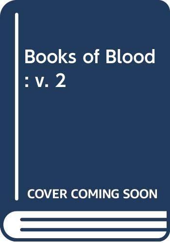 9780297787624: Books of Blood: v. 2