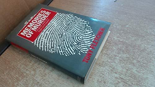 9780297788072: Memories of Murder: The Great Cases of a Fingerprint Expert