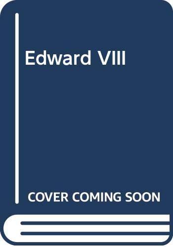 9780297788287: Edward VIII