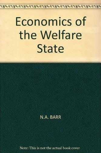9780297788362: Economics of the Welfare State