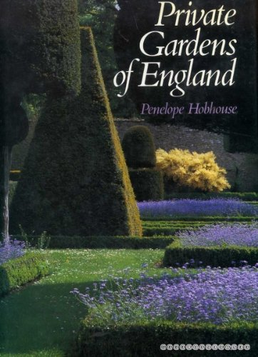 9780297790082: Private Gardens of England