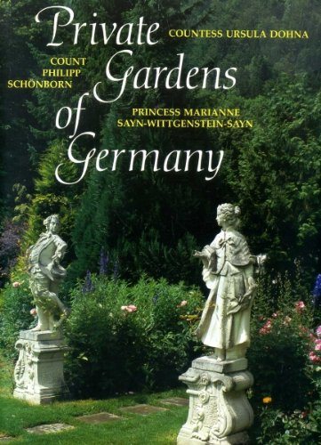 9780297790167: Private Gardens of Germany