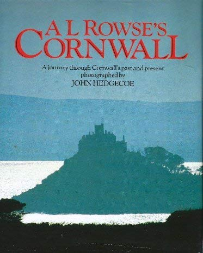Cornwall (A Mobius International book): Alfred Lestie Rowe