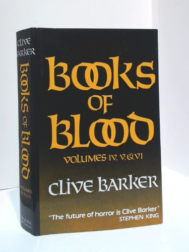 9780297792581: The Books of Blood, Vols. 4-6
