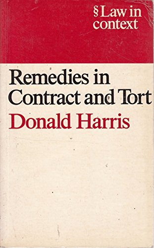 9780297794011: Remedies in Contract and Tort