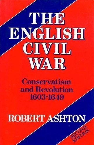 English Civil War (Revolutions of the Modern World): Robert Ashton