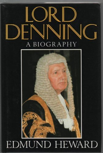9780297811381: Lord Denning: A Biography