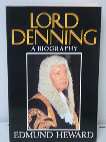 9780297812203: Lord Denning: A Biography