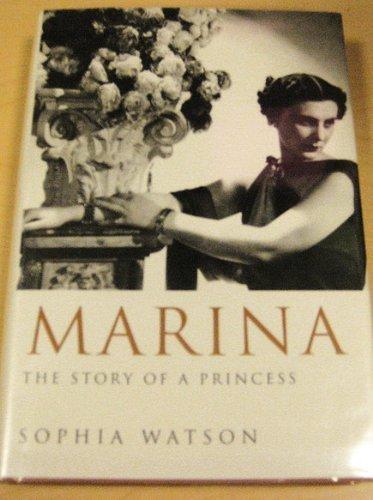 9780297814672: Marina: The Story of a Princess