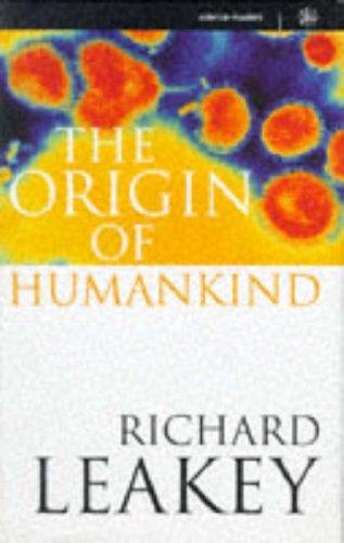 9780297815037: Origin of Humankind (Science Masters)