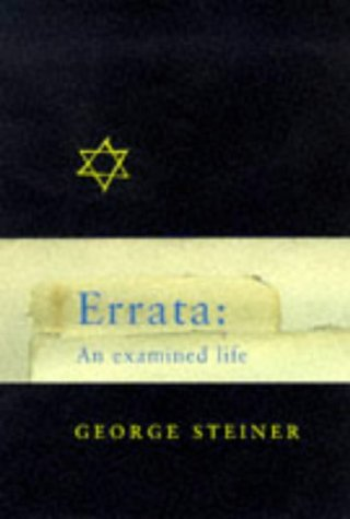 9780297818380: Errata : An Examined Life