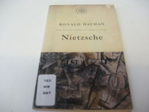 9780297819486: The Great Philosophers: Nietzsche