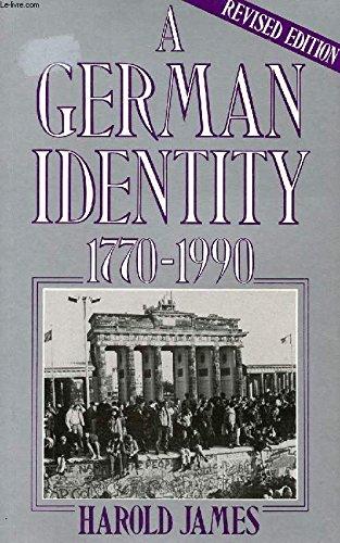 9780297820468: German Identity, 1770-1990