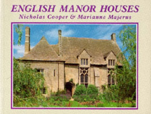 9780297831068: English Manor Houses (Country Series)