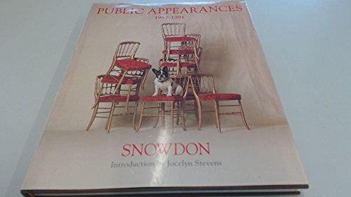 9780297831228: Public Appearances, 1987-91
