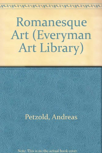 9780297834991: Romanesque Art (Everyman Art Library)