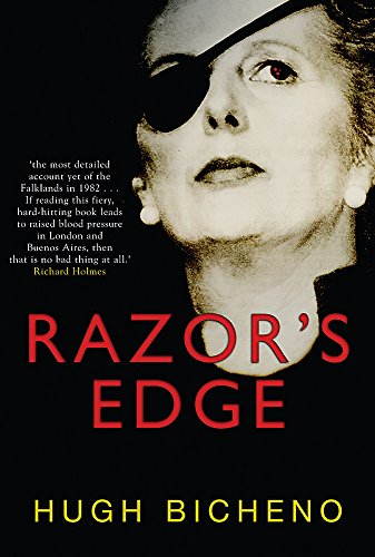 9780297846338: RAZOR'S EDGE: The Unnofficial History of the Falklands War