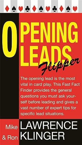9780297855583: Opening Leads Flipper