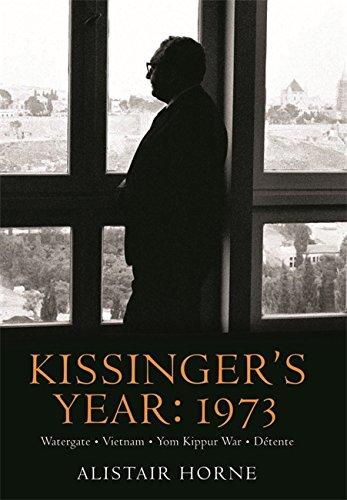 9780297859086: Kissinger's Year: 1973