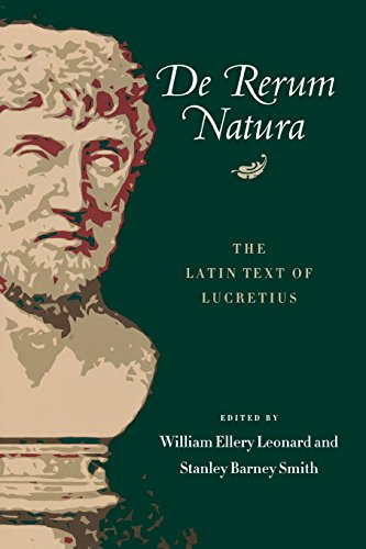 9780299003647: De Rerum Natura: Libri Sec The Latin Text of Lucretius