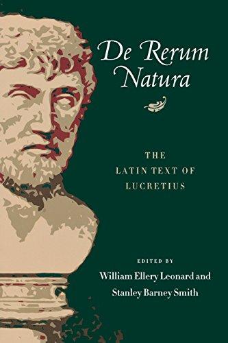 9780299003647: De Rerum Natura: The Latin Text of Lucretius (Latin and English Edition)
