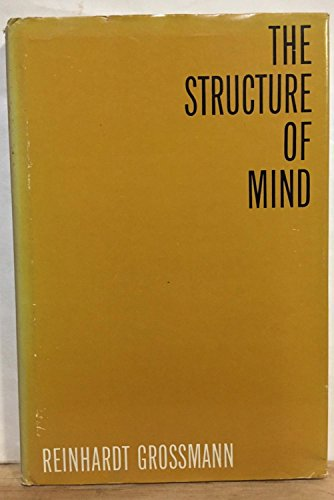 Structure of Mind (0299036405) by Grossmann, Reinhardt