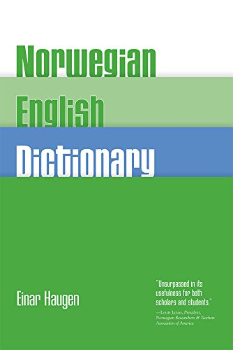 9780299038748: Norwegian-English Dictionary
