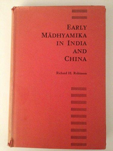 9780299042509: Early Madhyamika in India and China