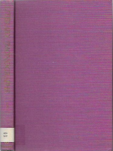 Literary Monographs: Rothstein, Eric