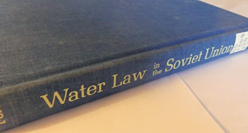 WATER RESOURCES LAW AND POLICY IN THE: Fox, Irving K.