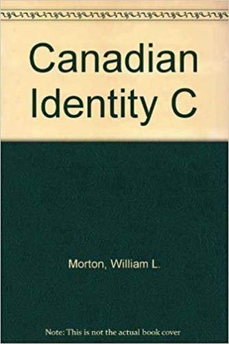 9780299061302: Canadian Identity