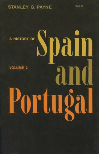 9780299062842: History of Spain and Portugal: v. 2