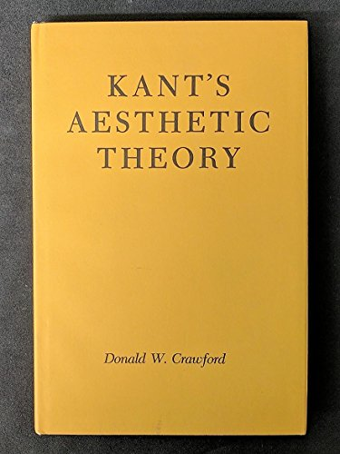 9780299065102: Kant's Aesthetic Theory