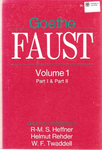 Faust (2 Volumes) (German and English Edition): Goethe, Johann Wolfgang von