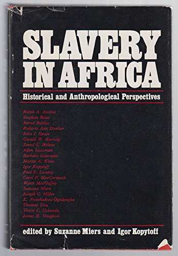 9780299073305: Slavery in Africa: Historical and Anthropological Perspectives