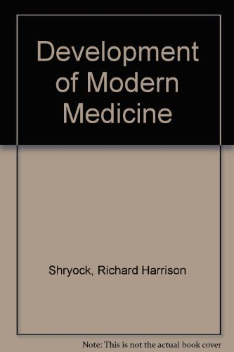 9780299075347: Development of Modern Medicine