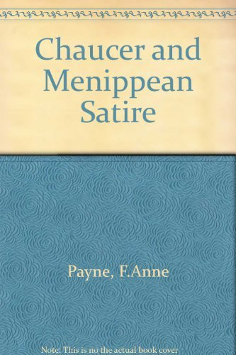 Chaucer And Menippean Satire