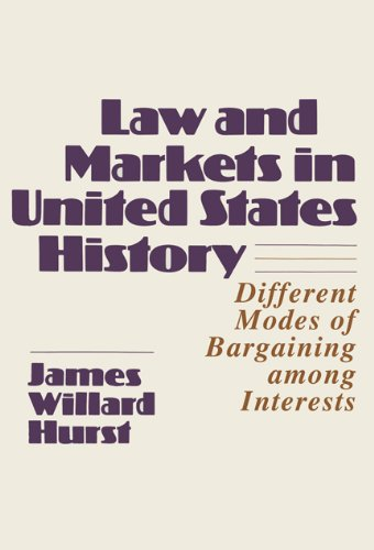 Law and Markets in United States History: James Willard Hurst