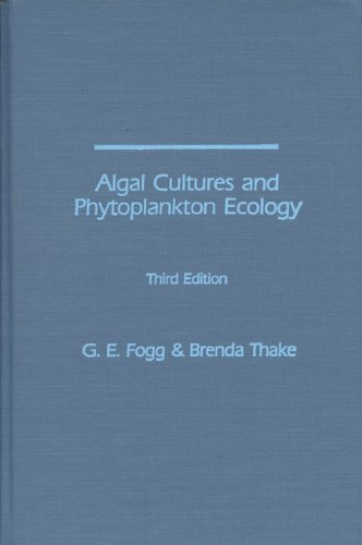 9780299105600: Algal Cultures, 3rd Edition