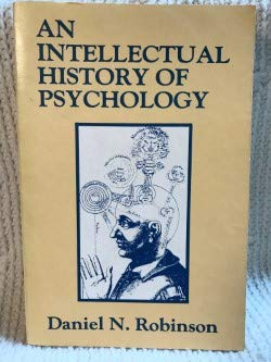 9780299109844: An Intellectual History of Psychology