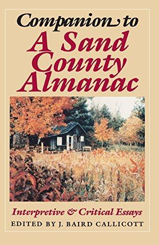 Companion to A Sand County Almanac: Interpretive: J. Baird Callicott