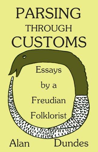 9780299112646: Parsing Through Customs: Essays by a Freudian Folklorist