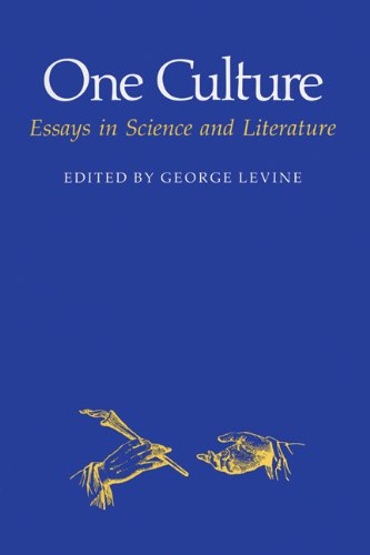 one culture essays in science and literature   one culture essays in science and literature science   literature paperback