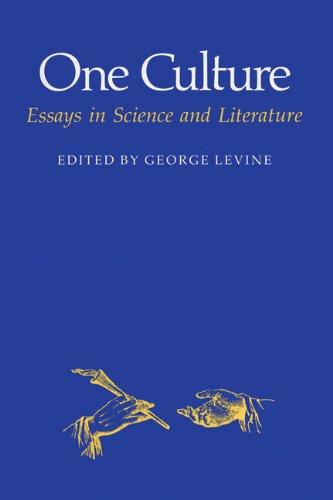 9780299113049: One Culture: Essays Sci/Lit (Science & Literature)