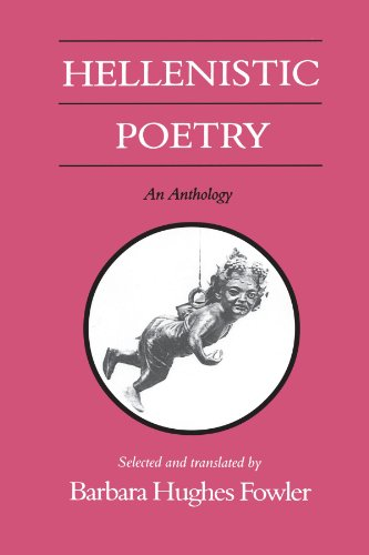 9780299125349: Hellenistic Poetry: An Anthology (Wisconsin Studies in Classics)