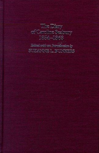 9780299128708: Diary of Caroline Seabury (Wisconsin Studies in Autobiography)
